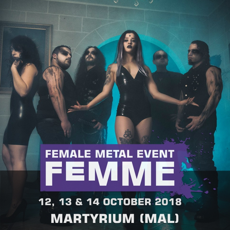 Martyrium mt @ Female Metal Event