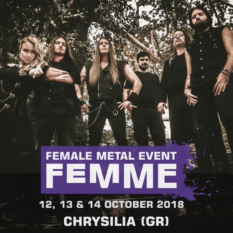 Chrysilia gr @ Female Metal Event