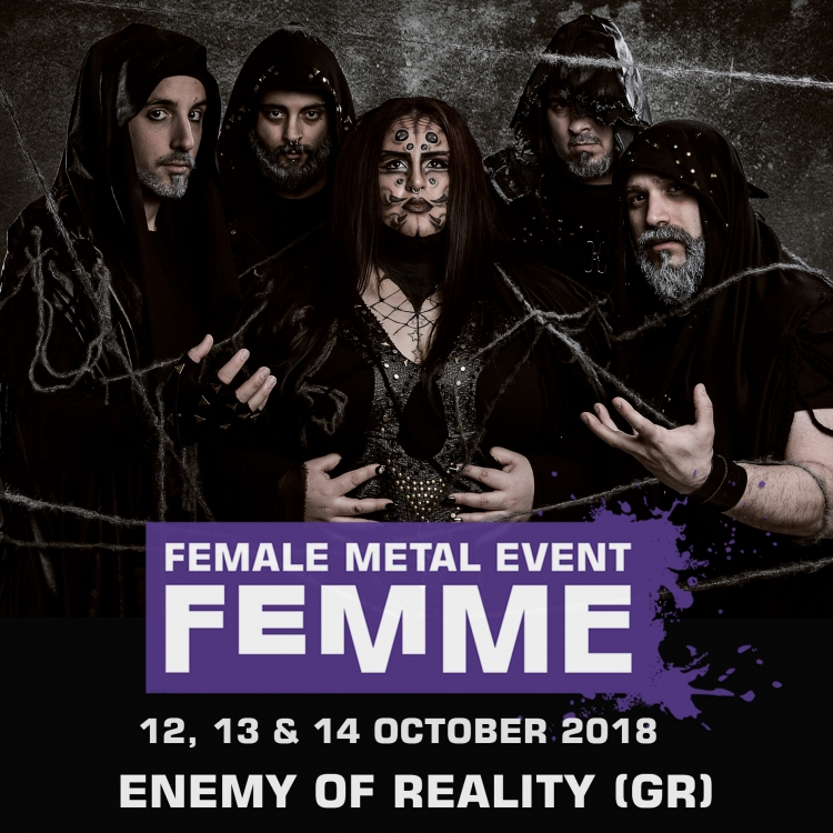 Enemy of reality gr @ Female Metal Event