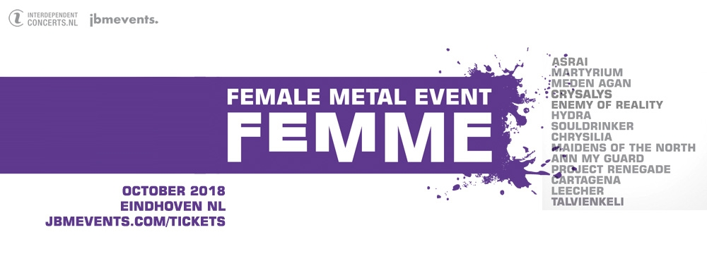 Enemy of reality gr added to the femme 2018 line up