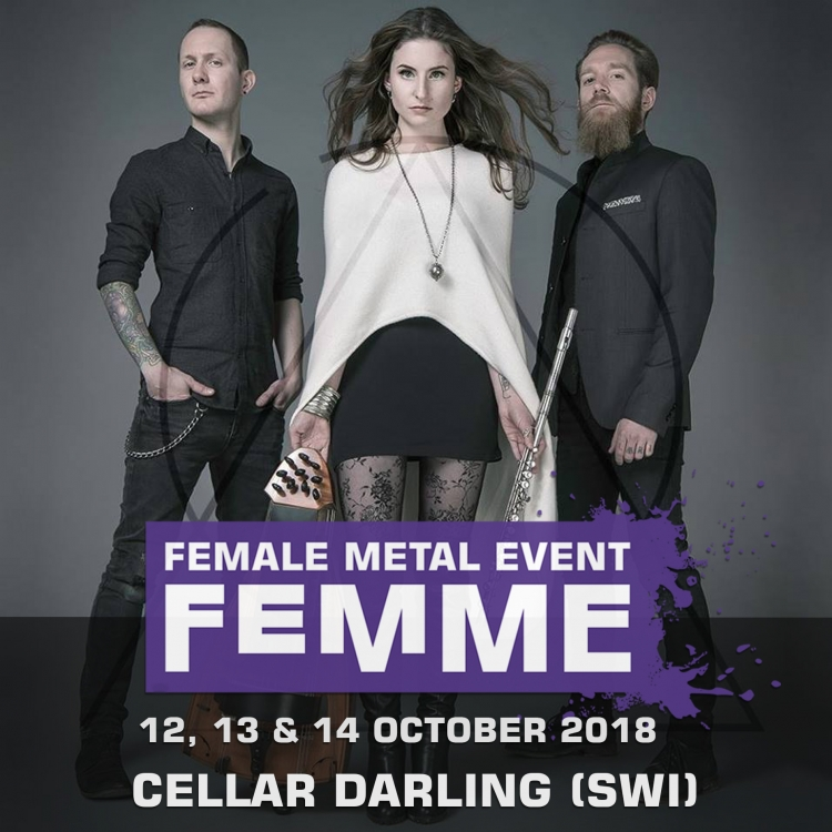 Cellar darling swi @ Female Metal Event