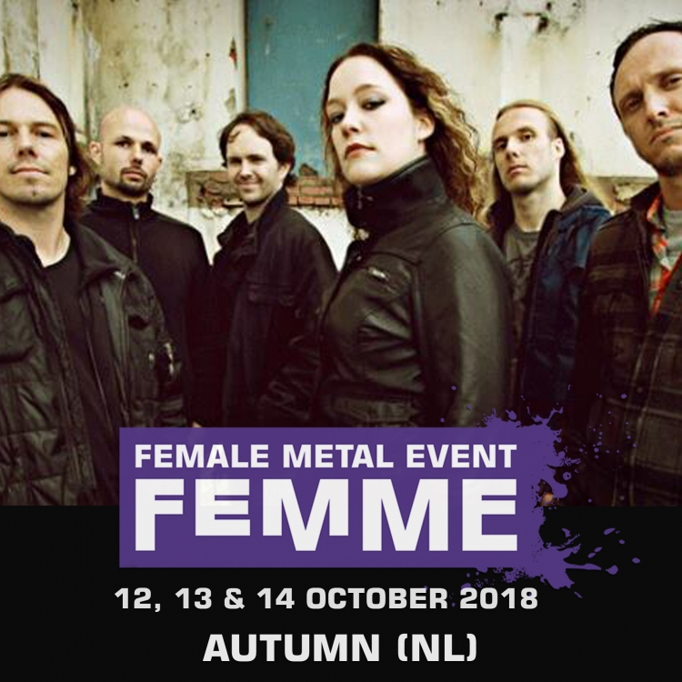 Autumn nl @ Female Metal Event