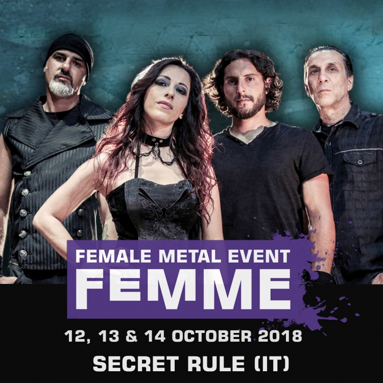 Secret rule it @ Female Metal Event