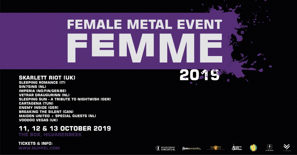 Skarlett riot announced for femme 2019