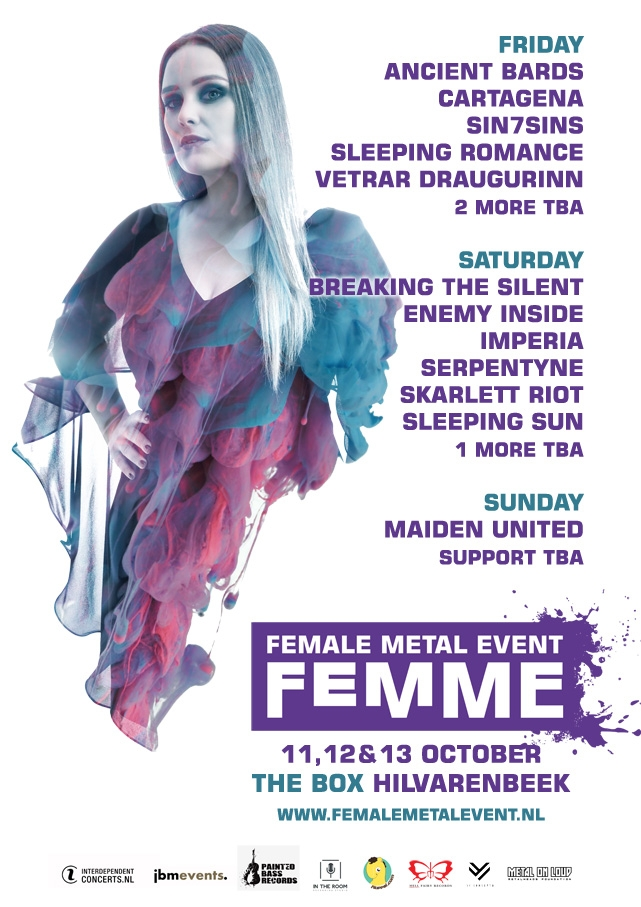 Day schedule femme 2019 announced